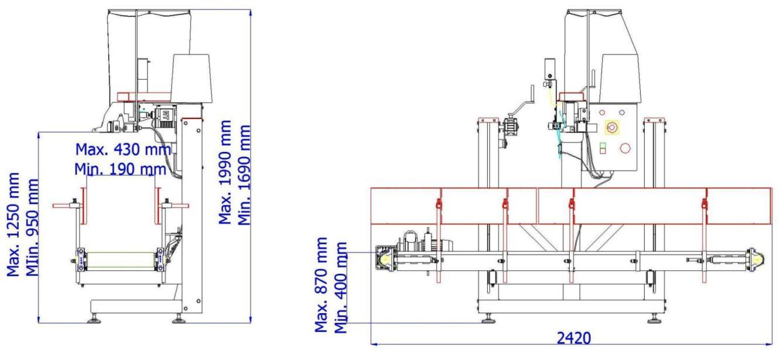 Calibrador mallas